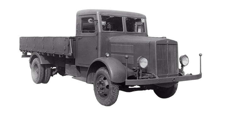 The 3 5 Ton Payload Ld1 Completed In November 1939 Was First Ever Anese Made Sel Truck Test Run Immediately After Completion Led To